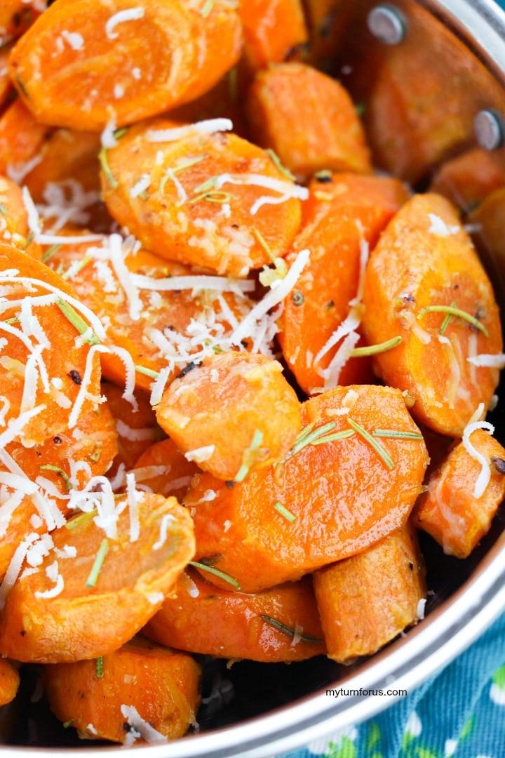 sautéed carrots in dish