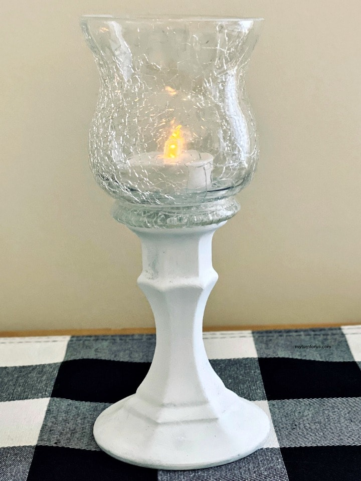 dollar tree pedestal candle holder or dollar tree candle holder make elegant candle holders