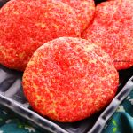 red glitter cookies