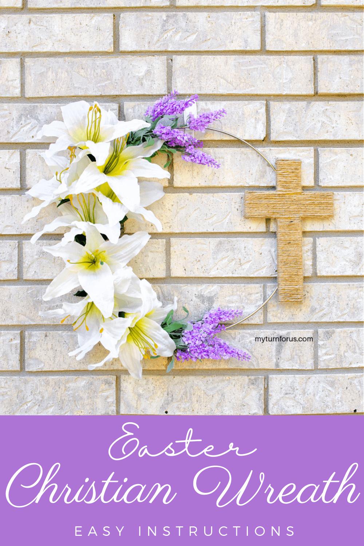 Christian Wreath with Cross