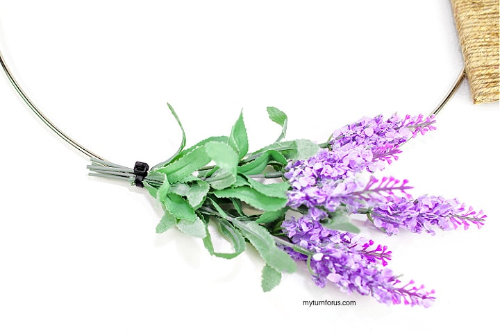 Cut Stems on Lavender