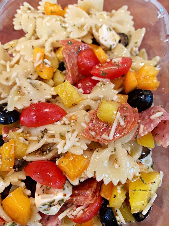 Bow-tie Antipasto Pasta Salad