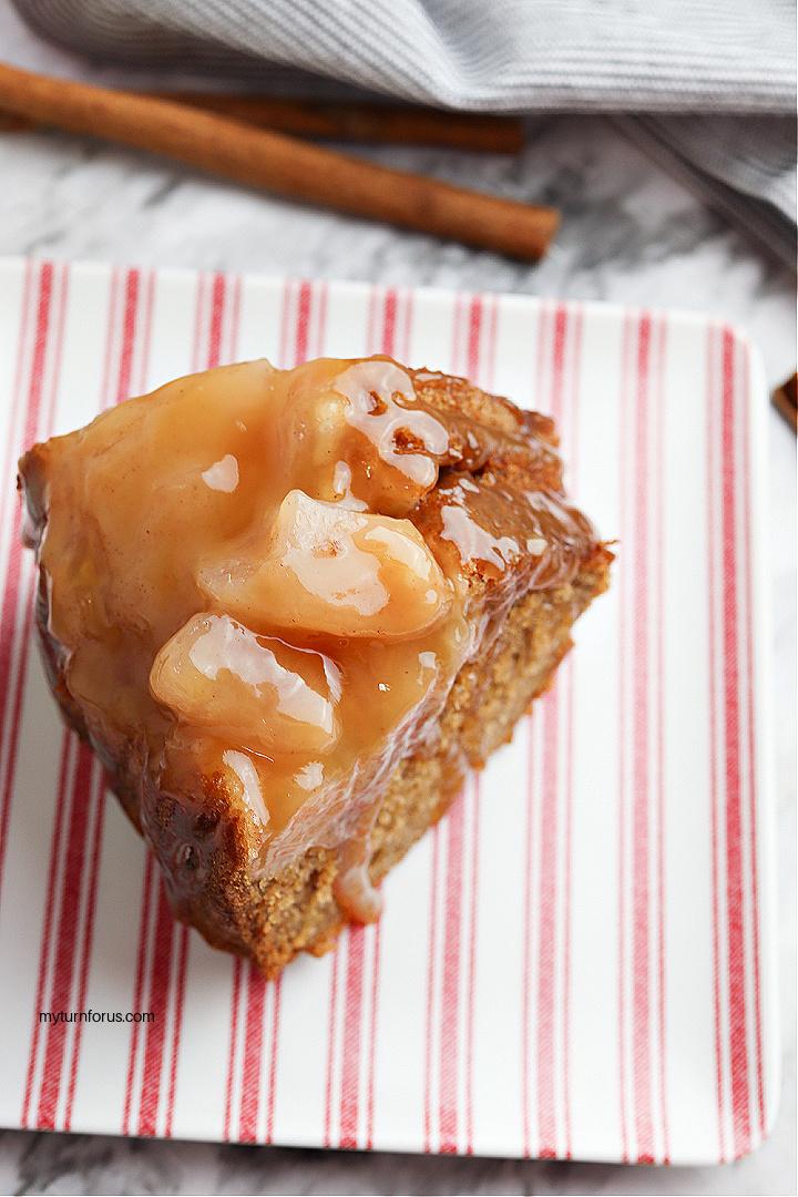 bundt cake with apple pie filling